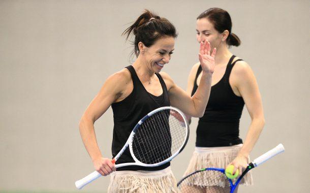 """""""iMATCH"""" turnyruose moterys tenisą žaidžia ne """"dėl mados"""" nuotrauka"""