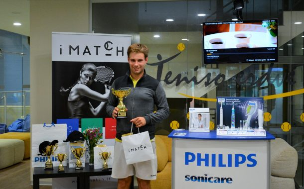 """""""iMATCH"""" platforma teniso mėgėjams paskelbė vasaros sezono nugalėtojus nuotrauka"""
