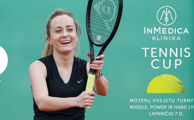 InMedica klinika Tennis Cup nuotrauka