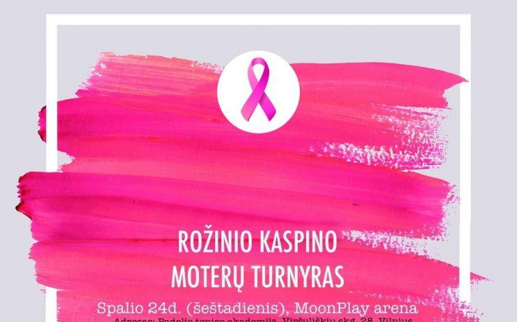 ROŽINIO KASPINO moterų dvejetų padelio turnyras nuotrauka