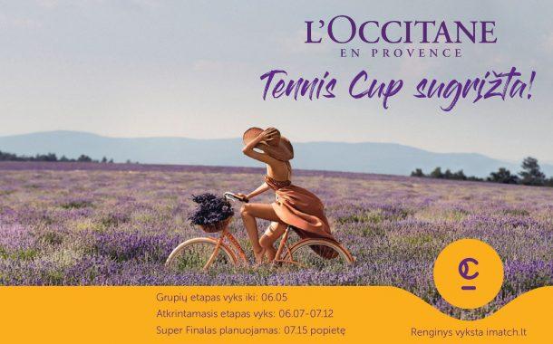 Atnaujintas L'Occitane Tennis Cup nuotrauka