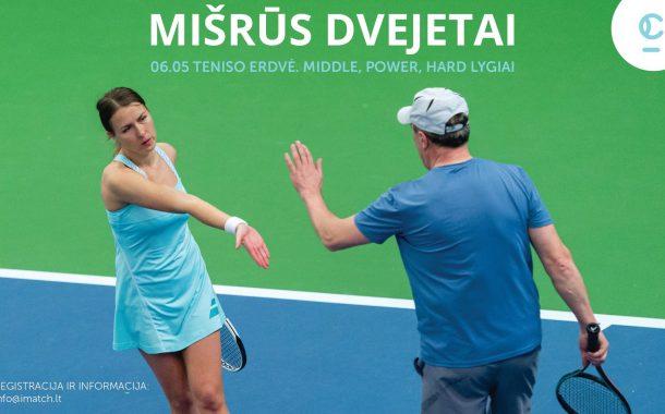 iMATCH mišrių dvejetų teniso turnyras nuotrauka