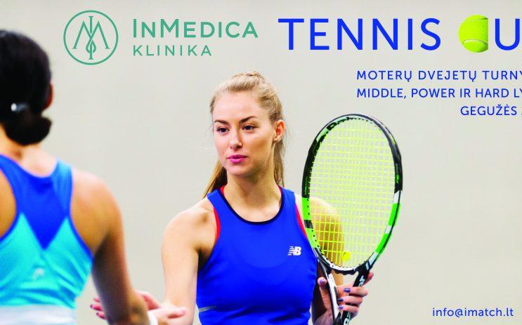 InMedica Tennis Cup moterų dvejetai nuotrauka