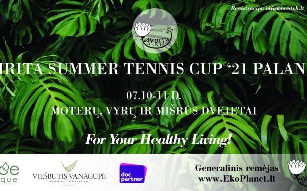 AMRITA Summer Tennis Cup '21 Palanga nuotrauka