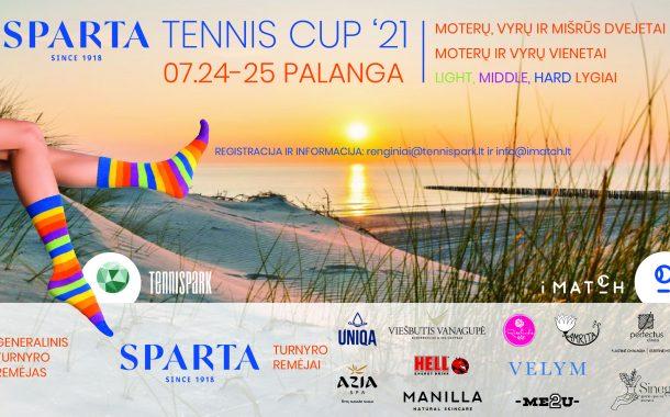 Sparta Tennis Cup '21 Palanga nuotrauka