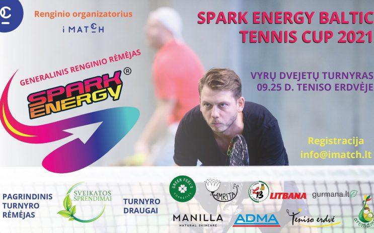 SPARK ENERGY BALTIC Vyrų dvejetų turnyras nuotrauka
